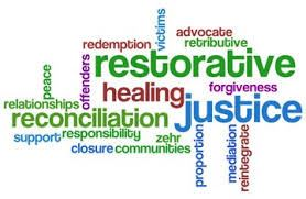 Word Web Including Restorative Healing Justice